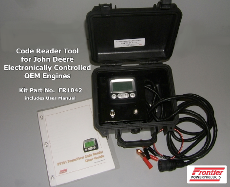 Frontier Power Products - JD Electronic Engine Code Reader v2 0