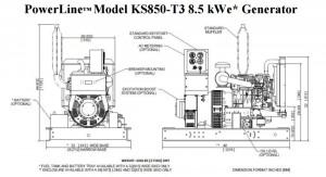 KS850 dim drawing