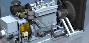 Core Drilling - Genset 1