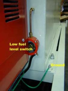 RER - Fuel1 - fuel lev switch