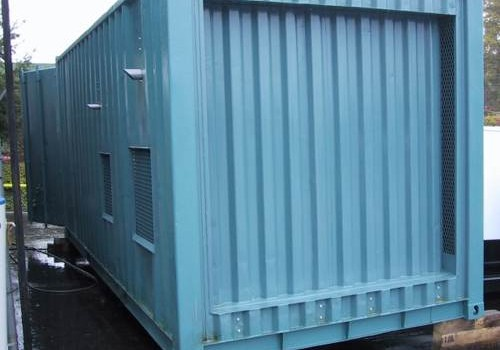 Prefabricated Self-Contained Power House