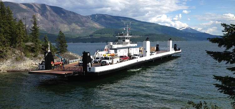 Arrow Lake Ferry – 3 John Deere-Powered Gensets