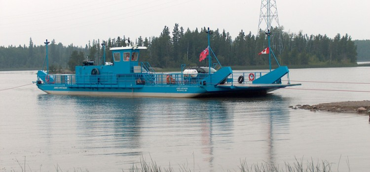 Cable Ferry James Apetagon – John Deere Engine and Kubota-driven Genset
