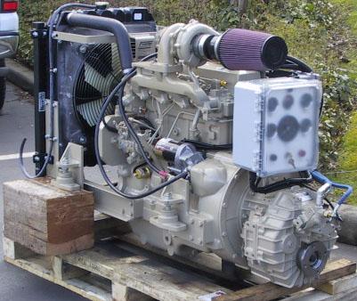 Canadian Coast Guard Rescue Vessel – Marine Engine