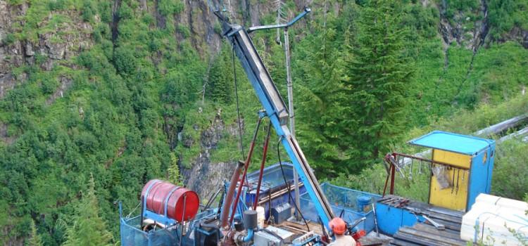 Drill Power Unit in Eskay Creek Area – John Deere Engine