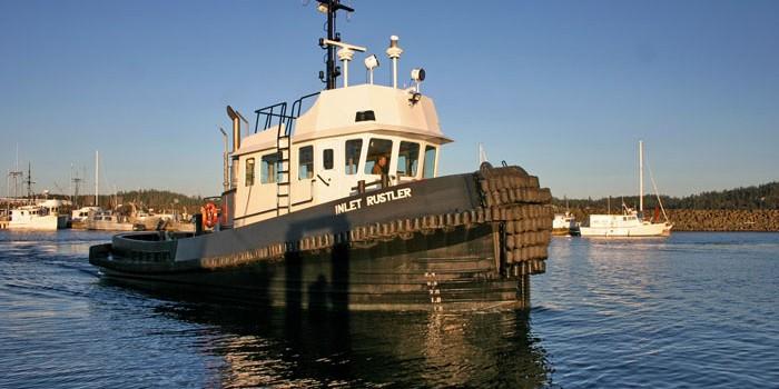 Inlet Rustler Towboat – Mitsubishi Propulsion Engines and Kubota-Driven Generator