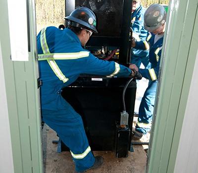 Remote Pipeline Site Installation – Kubota-driven Gensets