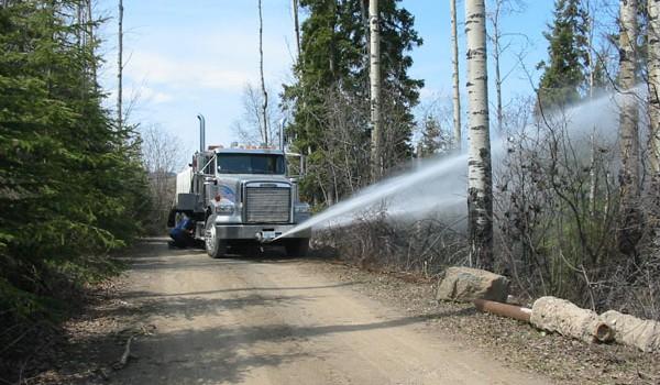 Hopper Water Truck – Kubota Industrial Engine