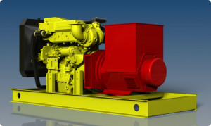 Engineering Page - Marine Genset 1