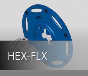 HEX-FLX Coupling