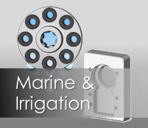 Marine and Irrigation Coupling 2