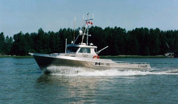 Coast Guard Vessel Power – John Deere Marine Propulsion Engines
