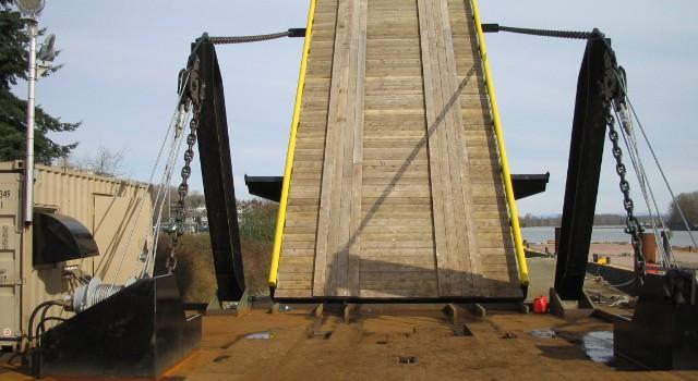Custom Power Unit for Barge Ramp – John Deere Powered Genset