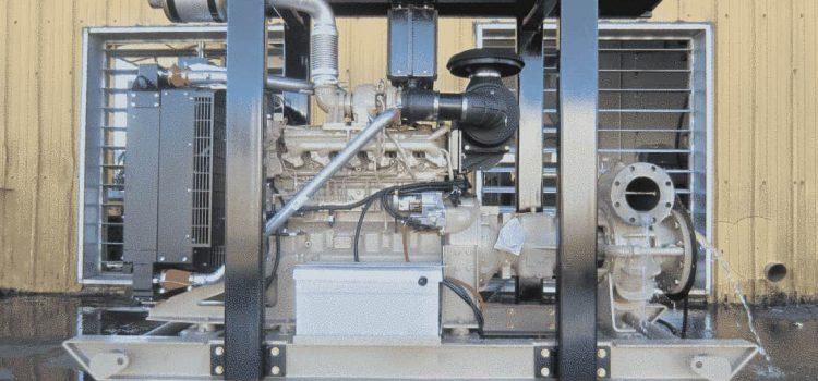Placer Mine Pumping Unit – John Deere Powered