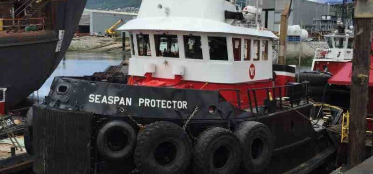 Seaspan Protector Tug – New Mitsubishi Marine Propulsion Engines